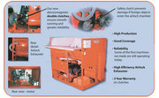 COMMERCIAL SIZE INSULATION BLOWING MACHINE FOR SALE