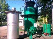 Waste processing quipment,  obtaining of the biodiesel.