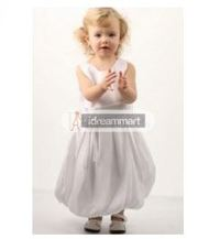 Idreammart.com offers cute and Cheap flower girl dresses with free shi