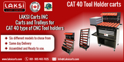 Cat40 Tool Holders Cart
